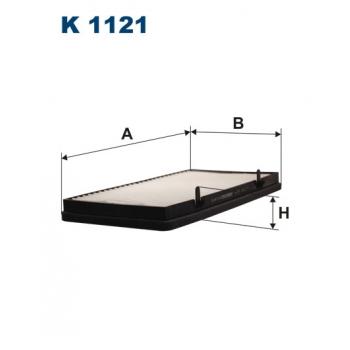 Filtron K 1121 - kabinovy filtr
