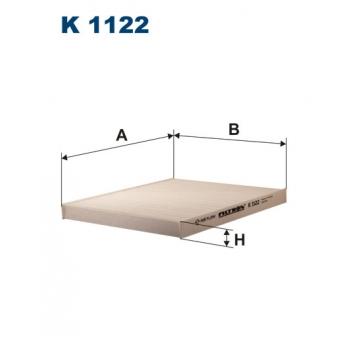 Filtron K 1122 - kabinovy filtr