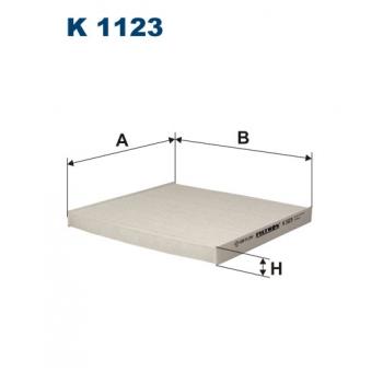 Filtron K 1123 - kabinovy filtr