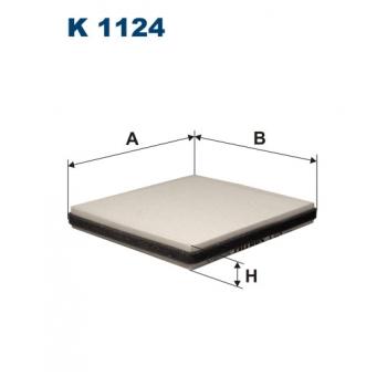 Filtron K 1124 - kabinovy filtr