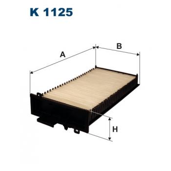 Filtron K 1125 - kabinovy filtr
