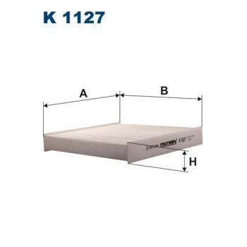 Filtron K 1127 - kabinovy filtr