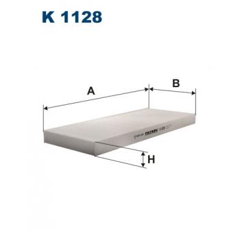 Filtron K 1128 - kabinovy filtr