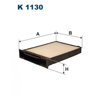 Filtron K 1130 - kabinovy filtr