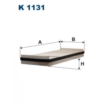 Filtron K 1131 - kabinovy filtr