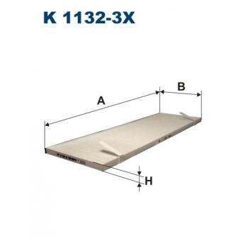 Filtron K 1132-3X - kabinovy filtr
