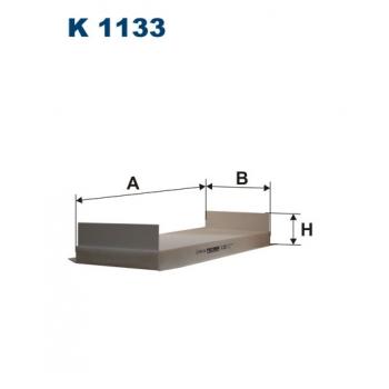 Filtron K 1133 - kabinovy filtr