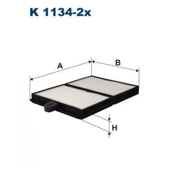 Filtron K 1134-2X - kabinovy filtr