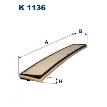 Filtron K 1136 - kabinovy filtr