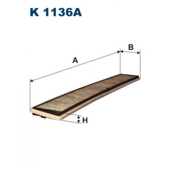 Filtron K 1136A - kabinovy filtr