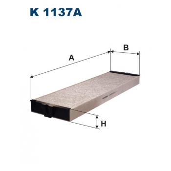 Filtron K 1137A - kabinovy filtr
