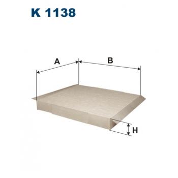 Filtron K 1138 - kabinovy filtr
