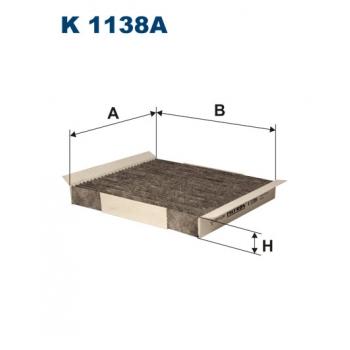 Filtron K 1138A - kabinovy filtr