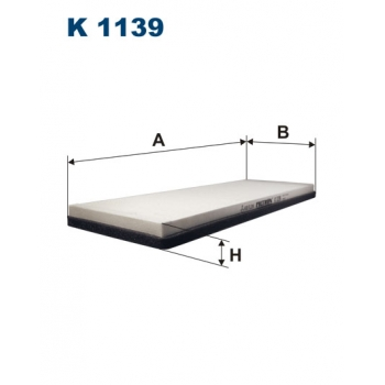 Filtron K 1139 - kabinovy filtr