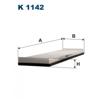 Filtron K 1142 - kabinovy filtr