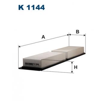 Filtron K 1144 - kabinovy filtr