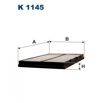 Filtron K 1145 - kabinovy filtr