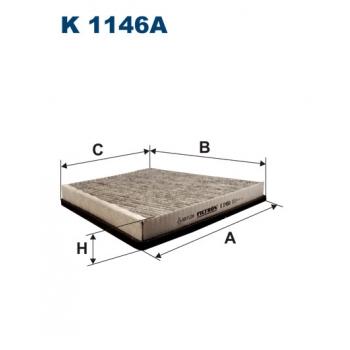 Filtron K 1146A - kabinovy filtr