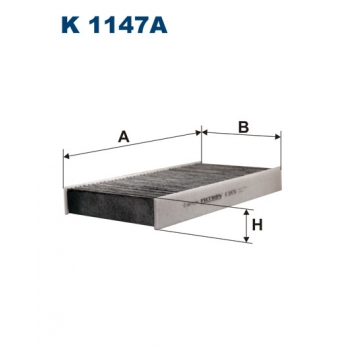 Filtron K 1147A - kabinovy filtr