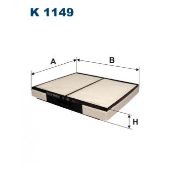 Filtron K 1149 - kabinovy filtr