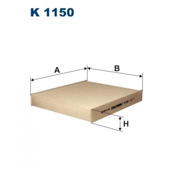Filtron K 1150 - kabinovy filtr