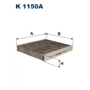 Filtron K 1150A - kabinovy filtr