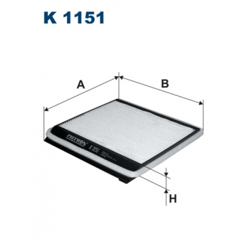 Filtron K 1151 - kabinovy filtr