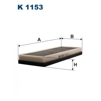 Filtron K 1153 - kabinovy filtr
