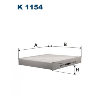 Filtron K 1154 - kabinovy filtr