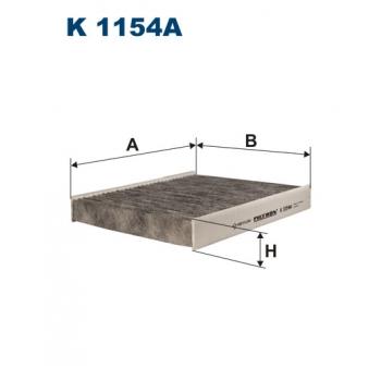 Filtron K 1154A - kabinovy filtr