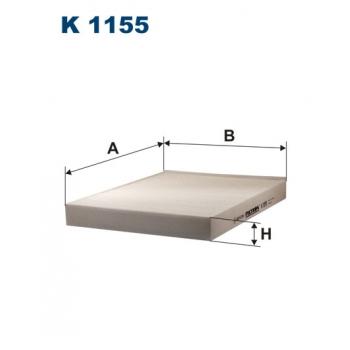 Filtron K 1155 - kabinovy filtr
