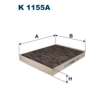Filtron K 1155A - kabinovy filtr