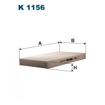 Filtron K 1156 - kabinovy filtr