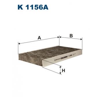 Filtron K 1156A - kabinovy filtr