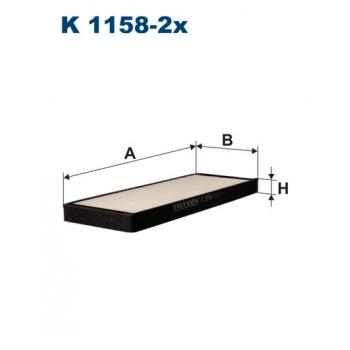 Filtron K 1158-2X - kabinovy filtr
