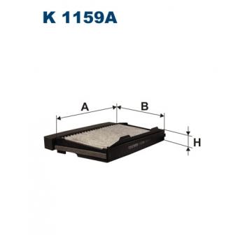 Filtron K 1159A - kabinovy filtr