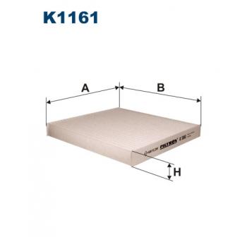 Filtron K 1161 - kabinovy filtr
