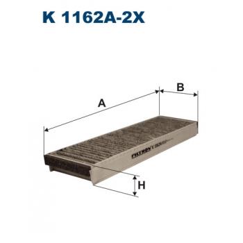 Filtron K 1162A-2X - kabinovy filtr