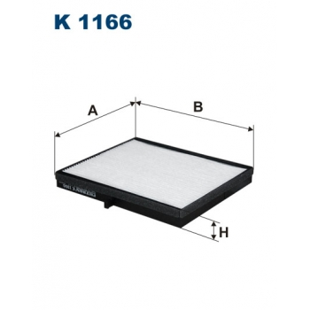 Filtron K 1166 - kabinovy filtr