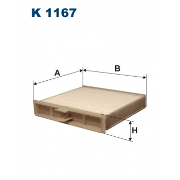Filtron K 1167 - kabinovy filtr