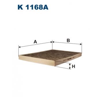 Filtron K 1168A - kabinovy filtr