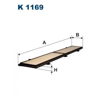 Filtron K 1169 - kabinovy filtr