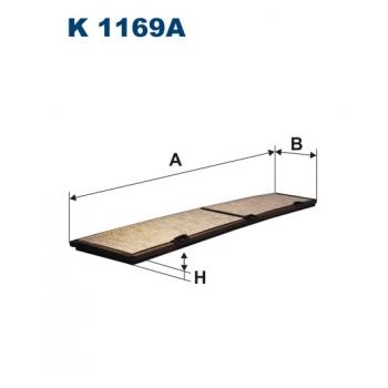 Filtron K 1169A - kabinovy filtr