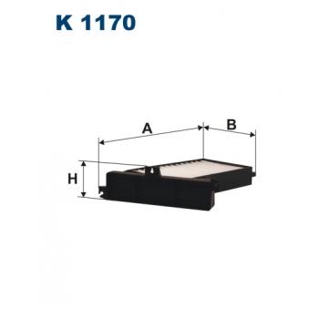 Filtron K 1170 - kabinovy filtr