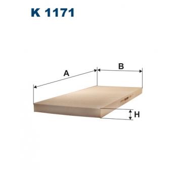 Filtron K 1171 - kabinovy filtr