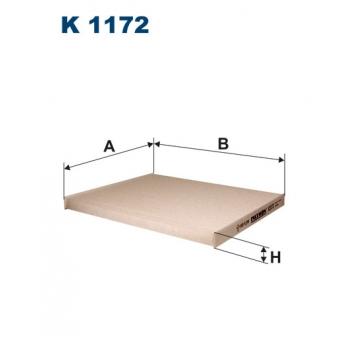 Filtron K 1172 - kabinovy filtr