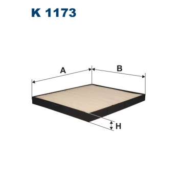 Filtron K 1173 - kabinovy filtr