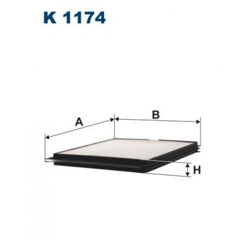 Filtron K 1174 - kabinovy filtr