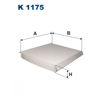 Filtron K 1175 - kabinovy filtr