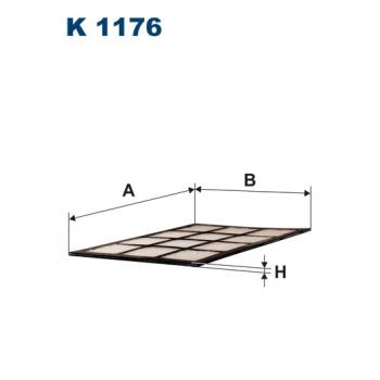 Filtron K 1176 - kabinovy filtr